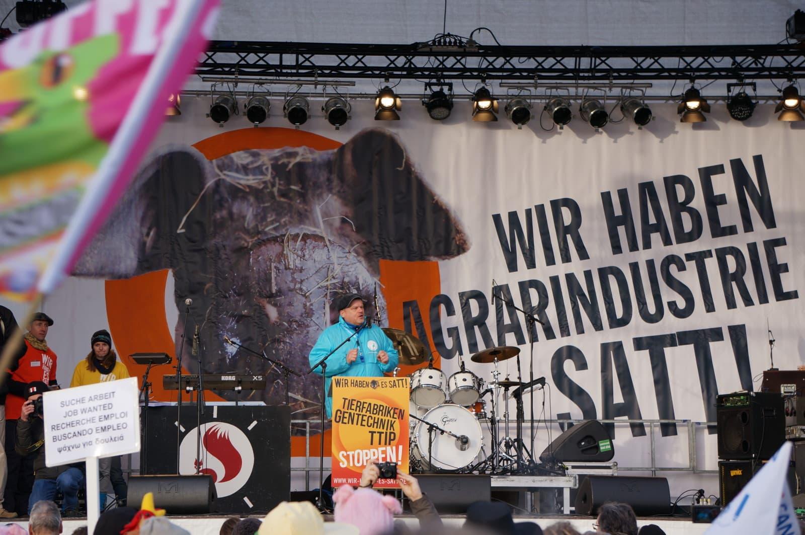 Demonstration in Berlin Januar 2015